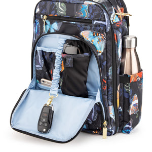 JU-JU-BE BE RIGHT BACK BACKPACK NAPPY BAG - SOCIAL BUTTERFLY 🦋