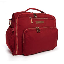 Load image into Gallery viewer, JU-JU-BE B.F.F. CONVERTIBLE BACKPACK - CHROMATICS TIBETAN RED