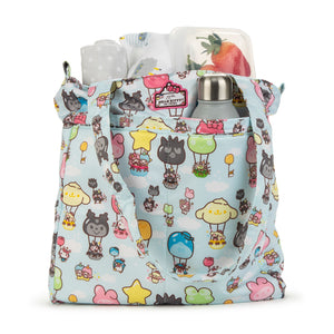 JU-JU-BE | BE LIGHT TOTE | HELLO KITTY PARTY IN THE SKY