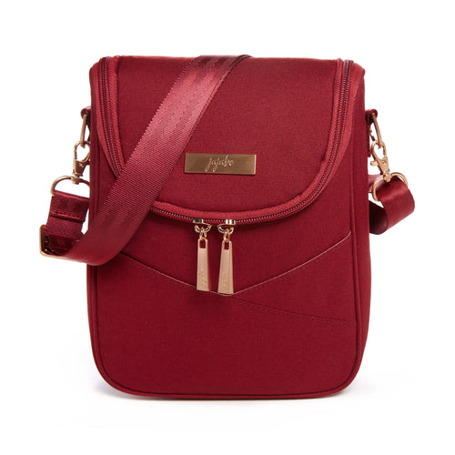 JU-JU-BE BE COOL COOLER BAG - CHROMATICS TIBETAN RED