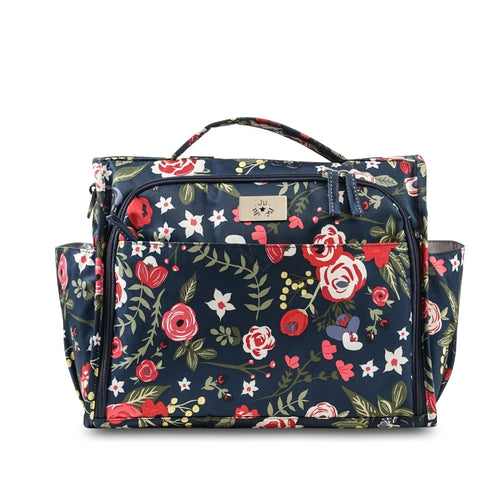 JU-JU-BE CLASSIC CONVERTIBLE BACKPACK - MIDNIGHT POSY
