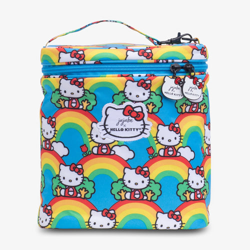 JU-JU-BE FUEL CELL LUNCH BAG - HELLO KITTY HELLO RAINBOW