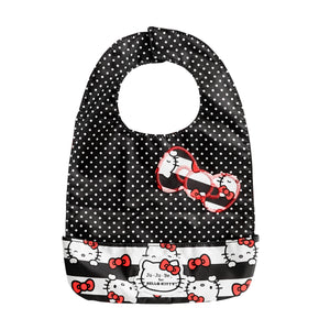 JU-JU-BE BE NEAT BIB - HELLO KITTY DOTS AND STRIPES