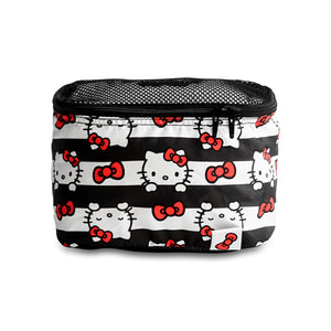 JU-JU-BE BE ORGANISED PACKING CUBES - HELLO KITTY DOTS AND STRIPES