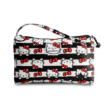 Load image into Gallery viewer, JU-JU-BE BE QUICK CLUTCH - HELLO KITTY DOTS AND STRIPES