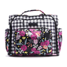 Load image into Gallery viewer, JU-JU-BE B.F.F. CONVERTIBLE BACKPACK - GINGHAM BLOOM