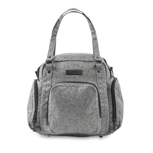 JU-JU-BE BE SUPPLIED PUMP BAG - GRAY MATTER