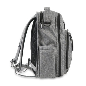JU-JU-BE BE RIGHT BACK BACKPACK NAPPY BAG - GRAY MATTER