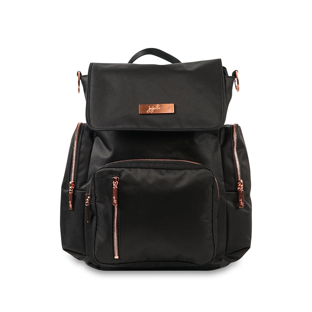 JU-JU-BE BE SPORTY CONVERTIBLE BACKPACK - KNIGHT ROSE