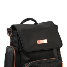 Load image into Gallery viewer, JU-JU-BE BE SPORTY CONVERTIBLE BACKPACK - KNIGHT ROSE