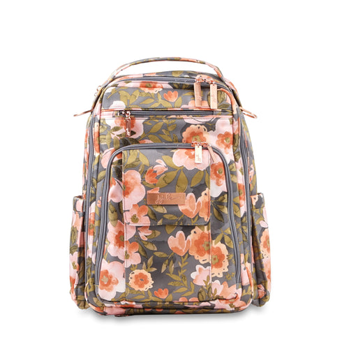 JU-JU-BE BE RIGHT BACK BACKPACK NAPPY BAG - WHIMSICAL WHISPER
