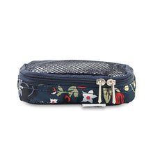 Load image into Gallery viewer, JU-JU-BE BE ORGANISED PACKING CUBES - MIDNIGHT POSY