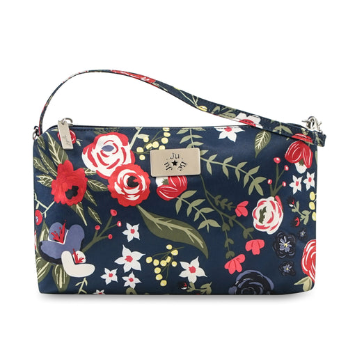 JU-JU-BE BE QUICK CLUTCH - MIDNIGHT POSY