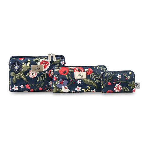 JU-JU-BE BE SET 3 BAGS - MIDNIGHT POSY