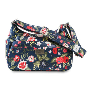 JU-JU-BE HOBOBE - HOBO HANDBAG - MIDNIGHT POSY
