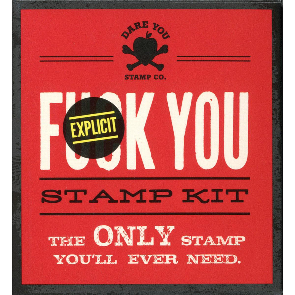 F*ck You Stamp Kit - Casual Toys