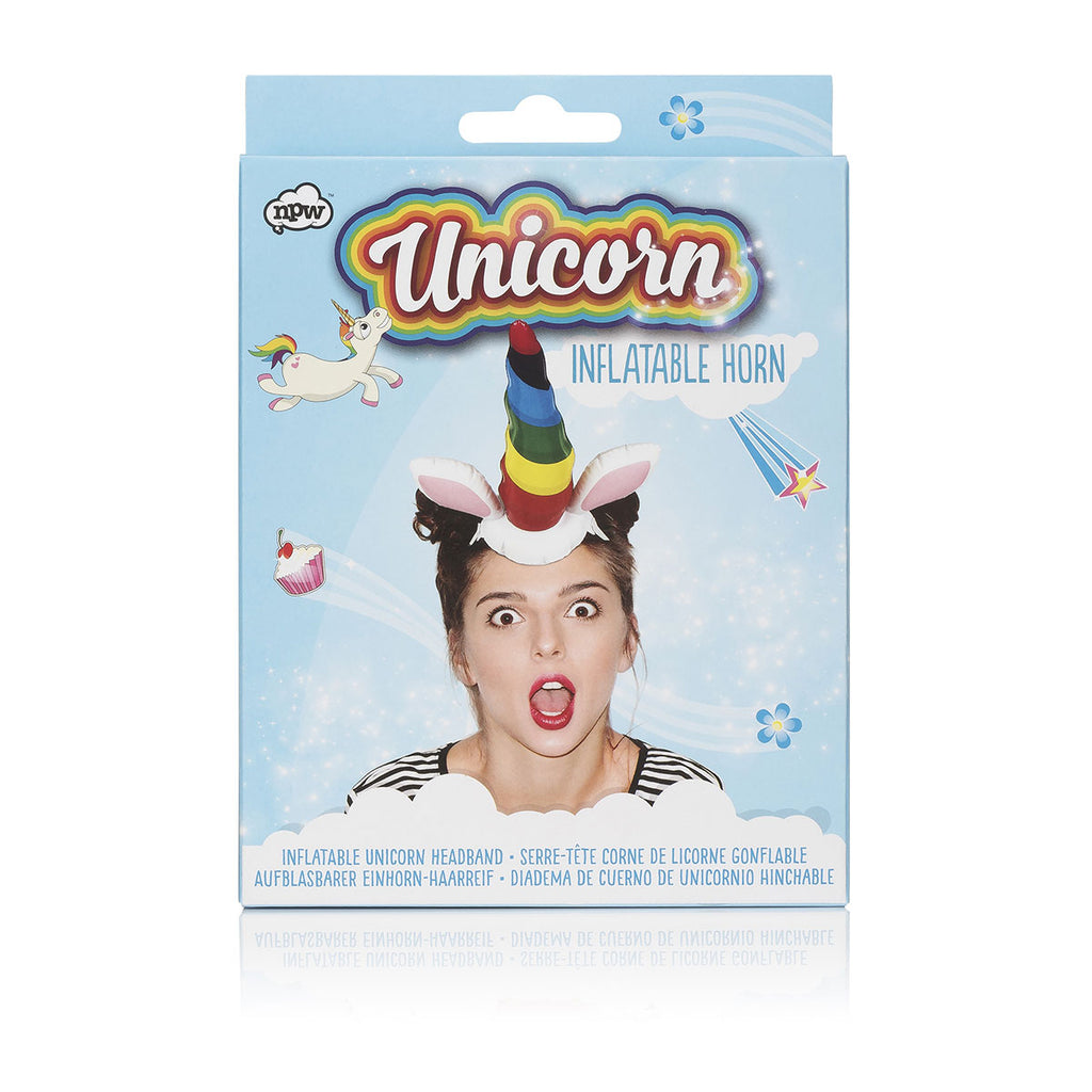 Unicorn Inflatable Horn - Casual Toys
