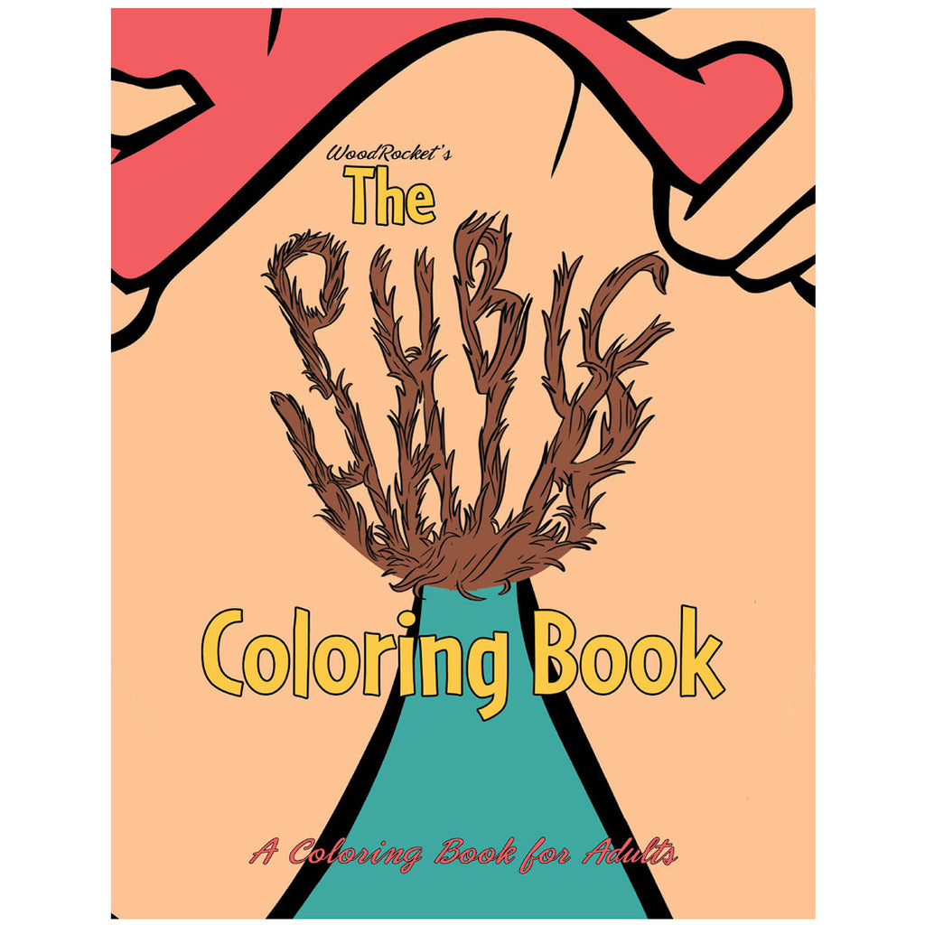 WoodRocket Pubic Hair Coloring Book - Casual Toys
