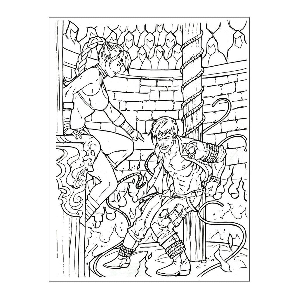 Fantasmic Coloring Book #NSFW - Casual Toys