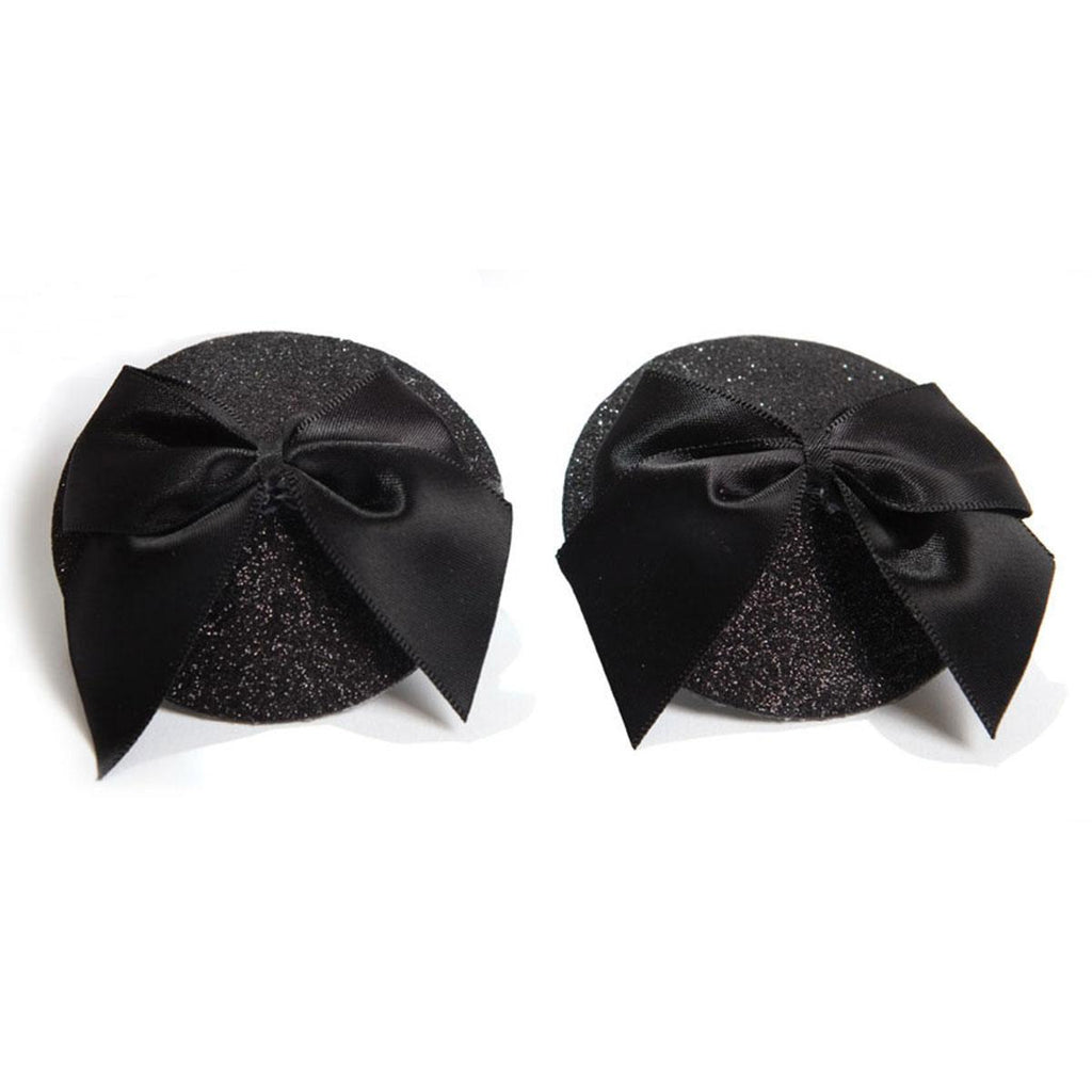 Bijoux Indiscrets Burlesque Pasties Glitter-Bow - Casual Toys