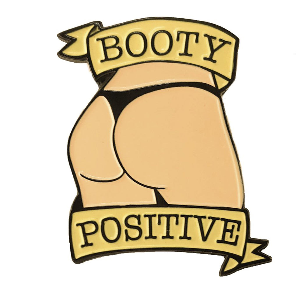 Geeky & Kinky Booty Positive Pin - Casual Toys