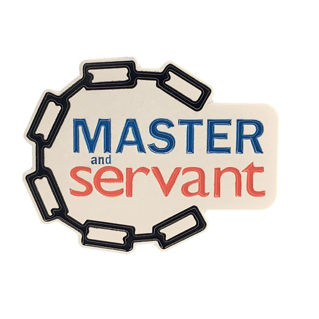 Geeky & Kinky Master and Servant Pin - Casual Toys