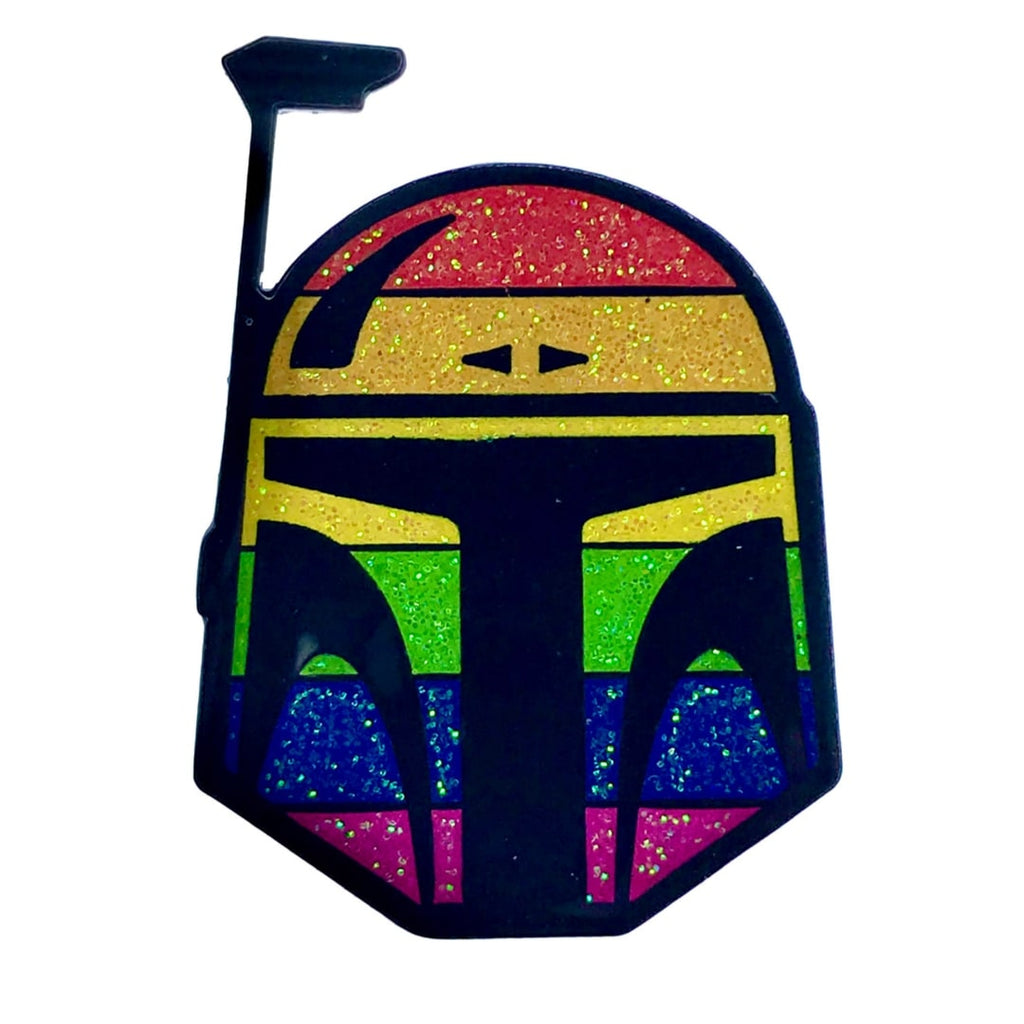 Geeky & Kinky Fett Pride Pin - Casual Toys