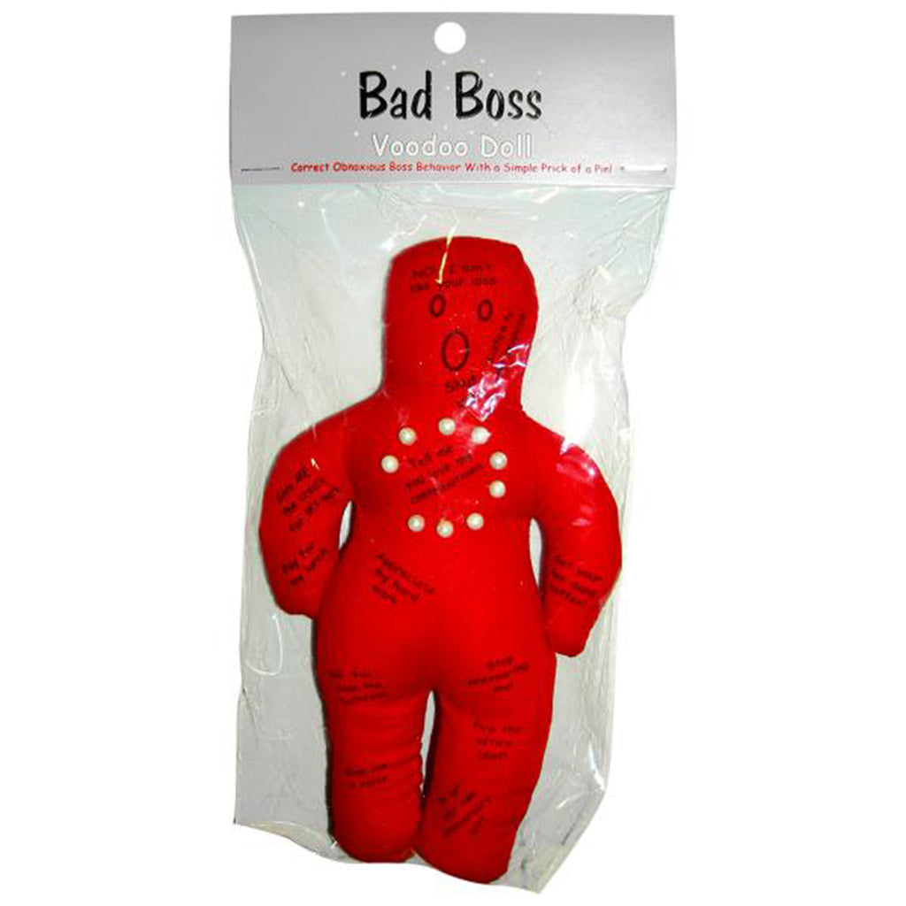 Bad Boss Voodoo Doll - Casual Toys