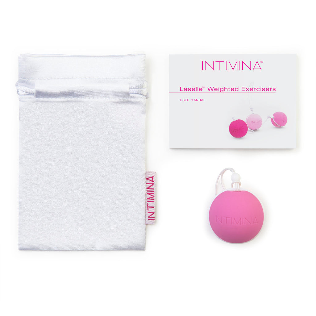 Intimina Laselle Medium 38g Weighted Ball for Pelvic Tightening - Casual Toys