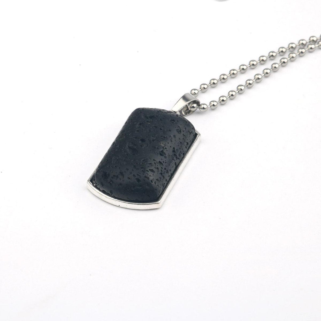 Eye of Love Dog Tag Necklace