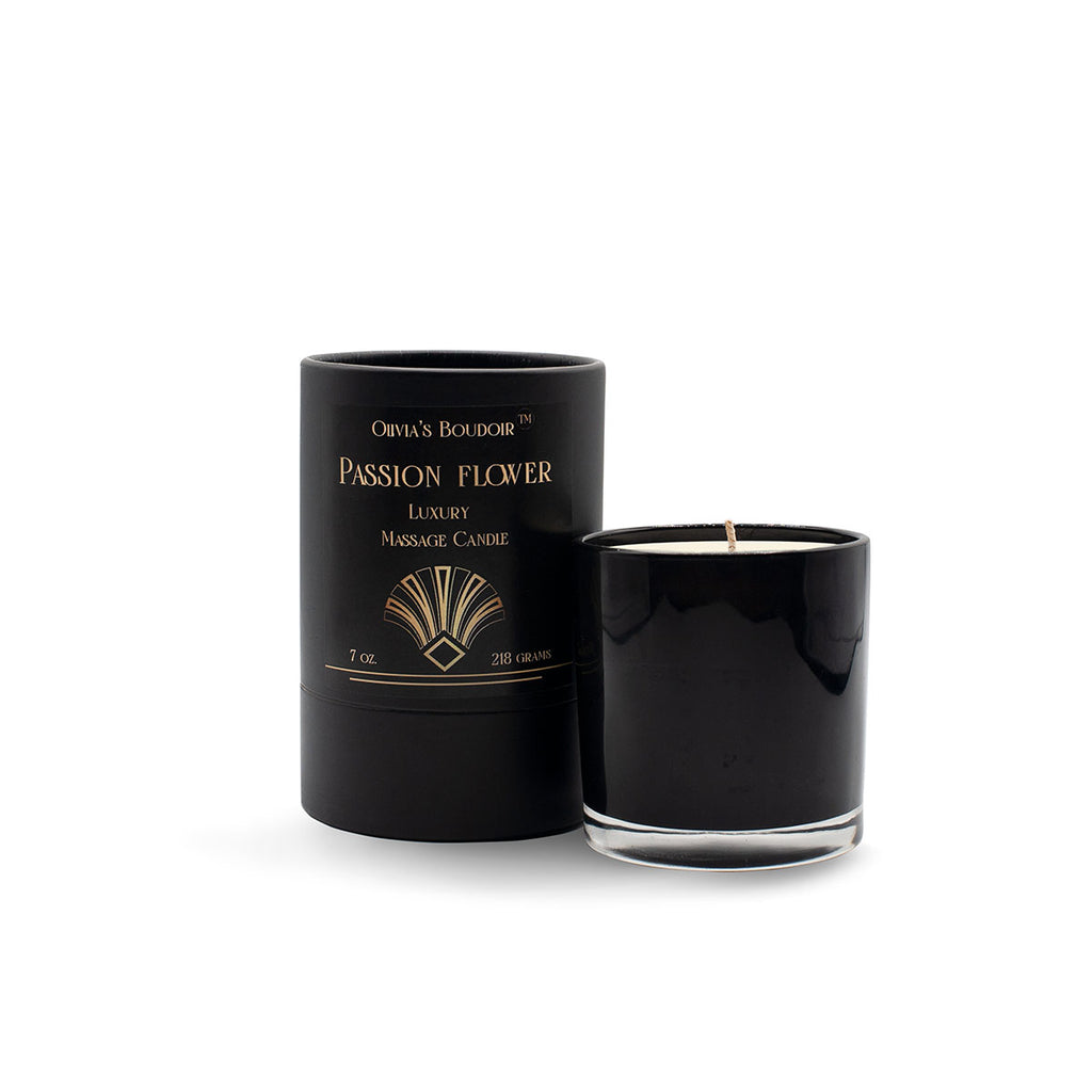 Olivia's Boudoir Candle 6.5oz - Passion Flower