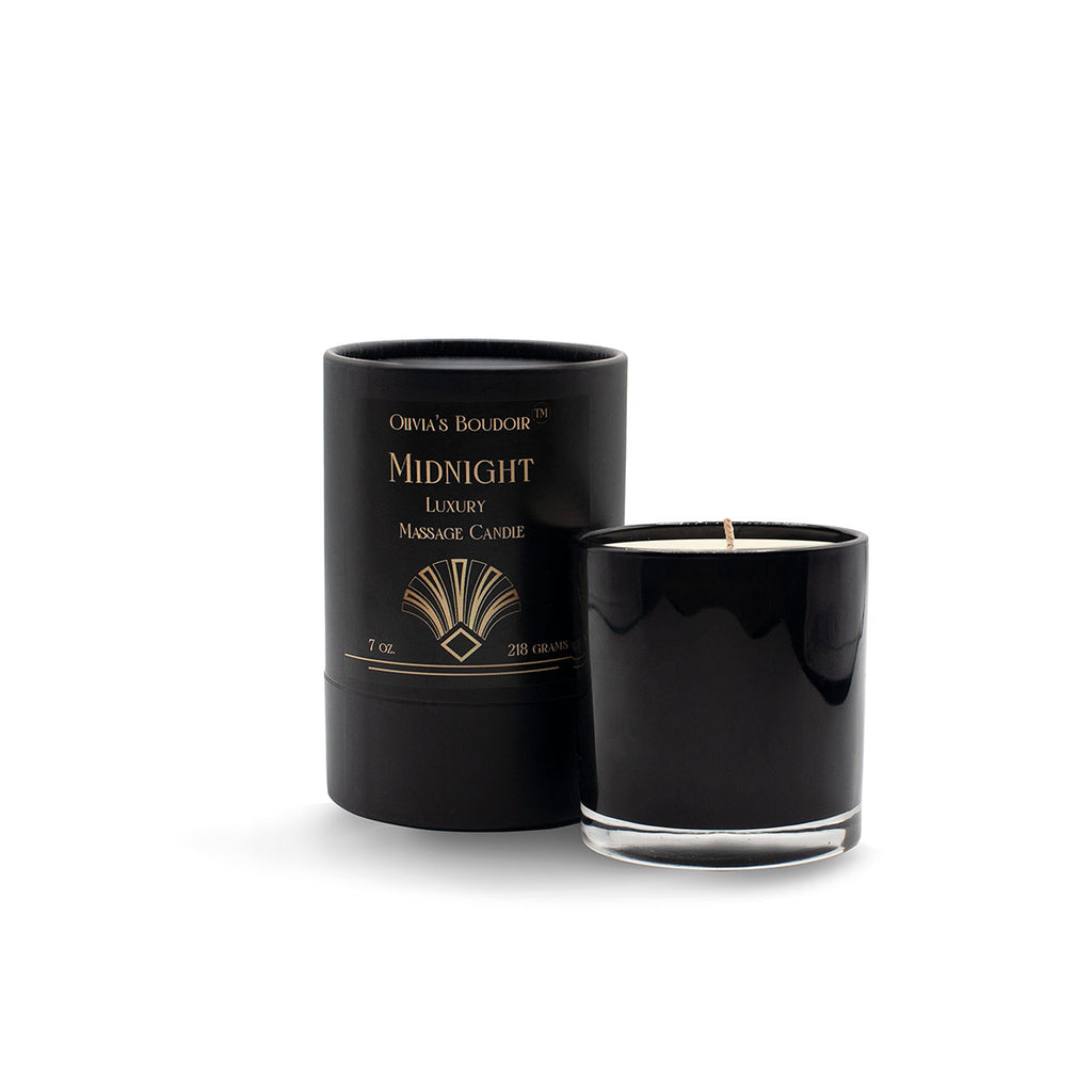 Olivia's Boudoir Candle 6.5oz - Midnight - Casual Toys