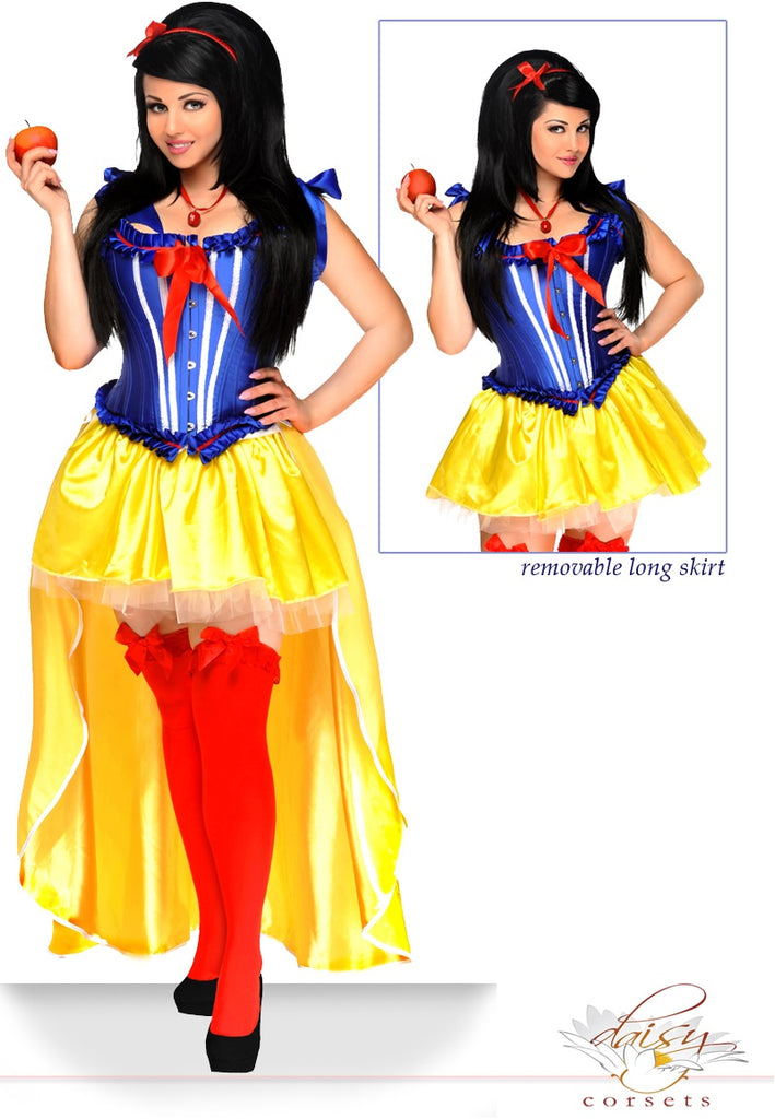 "5 PC Sexy ""Poisoned Apple"" Costume - Casual Toys"