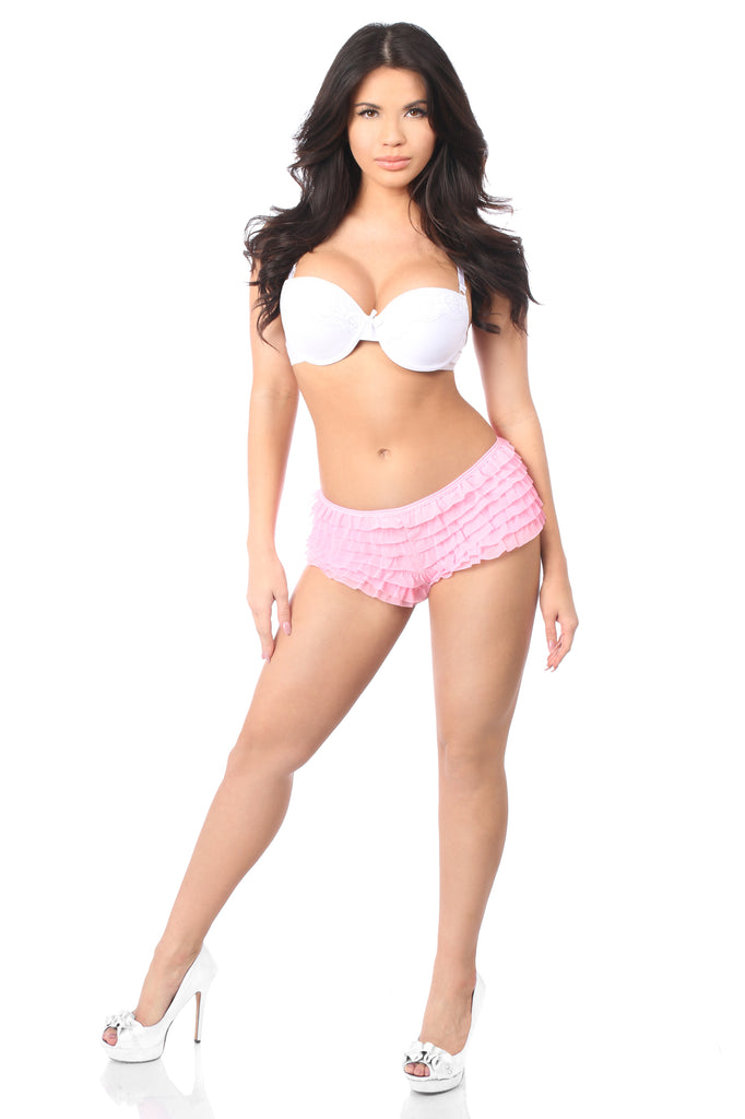 Baby Pink Ruffle Panty w/Bow - Casual Toys