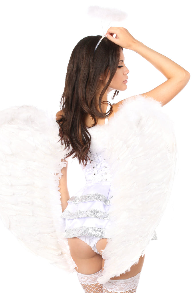 Top Drawer 5 PC Innocent Angel Costume - Casual Toys