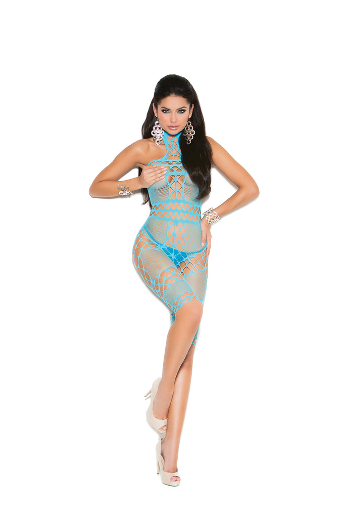 Turq. Mid Length Bodystocking - Casual Toys
