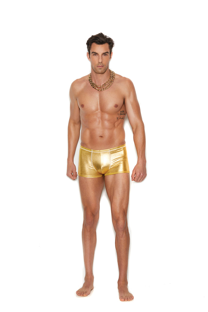 Men's Gold Lame'  Boxer Brief - Casual Toys