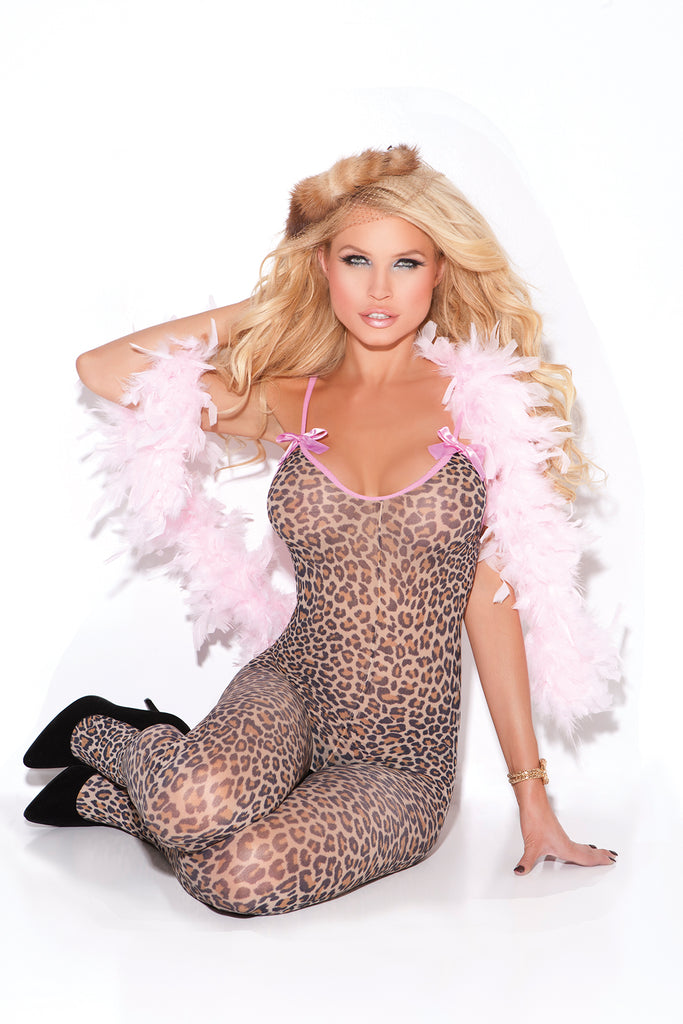 Bodystocking W- Satin Bows - Casual Toys