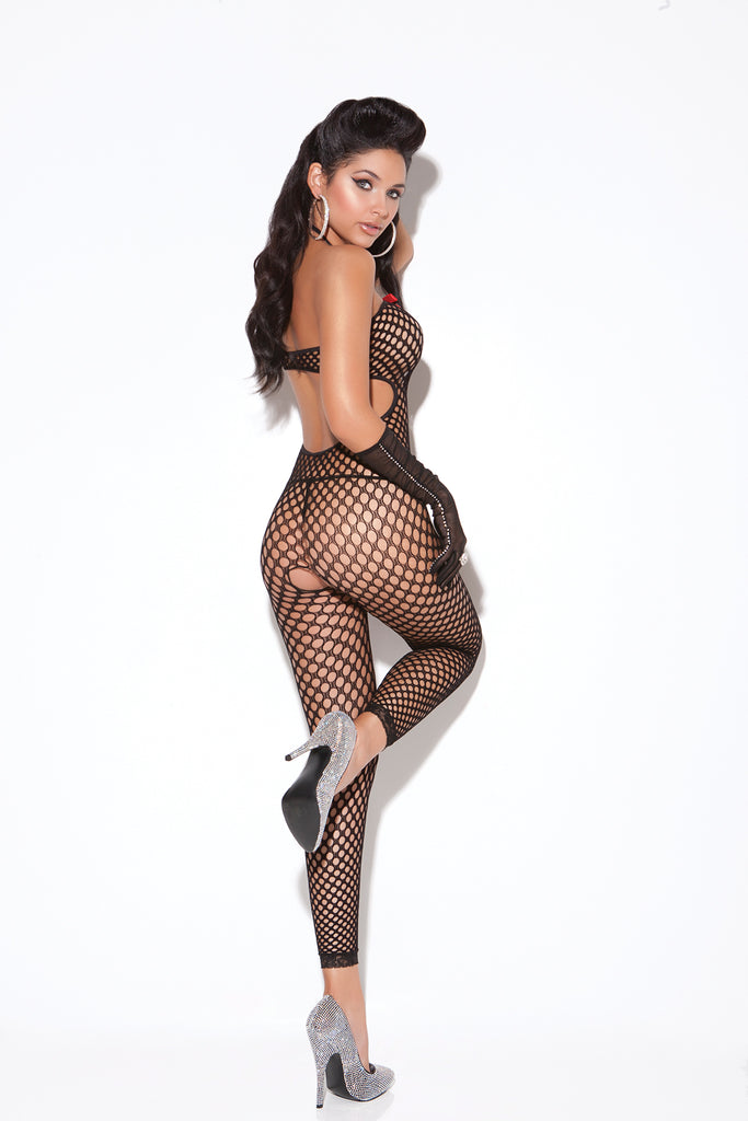 Crochet Footless Bodystocking - Casual Toys