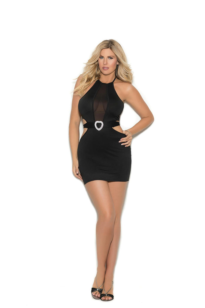 Lycra Dress W/mesh Insert - Casual Toys