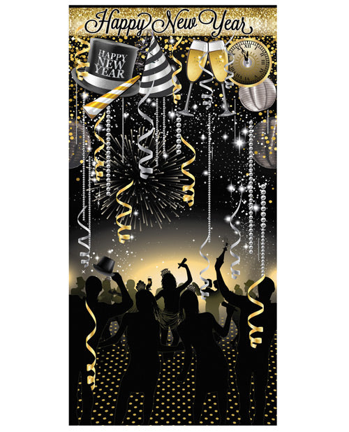 Happy New Year Photo Booth Prop Kit - Set Of 18 Pc