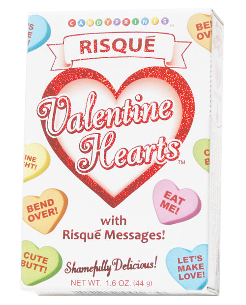 Risque Valentines Heart Candy - 1.6 Oz Box - Casual Toys
