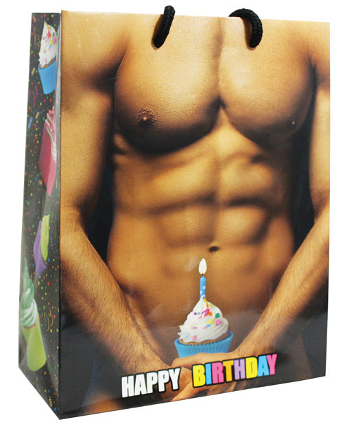 Happy Birthday! Man W-cup Cake Gift Bag