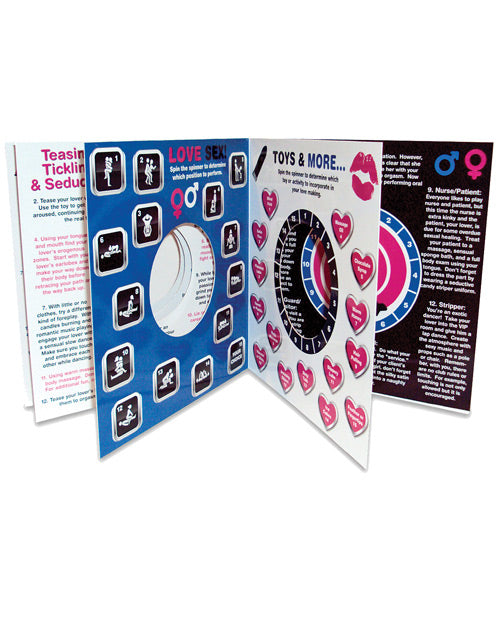 Bedroom Spinner Game Book