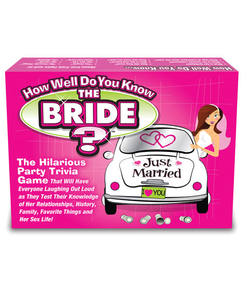 How Well Do You Know The Bachelorette-bride? Game