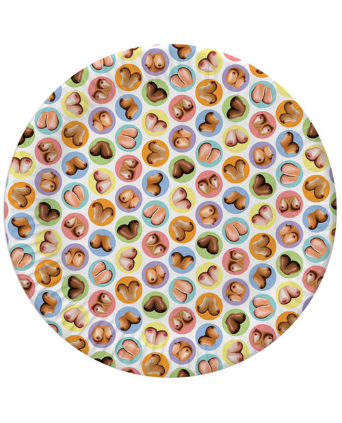 Mini-boob Plates - Pack Of 8