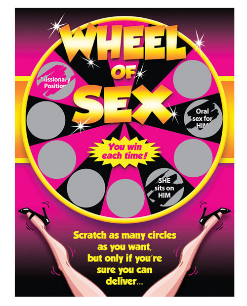 Wheel Of Sex Scratchers - Casual Toys