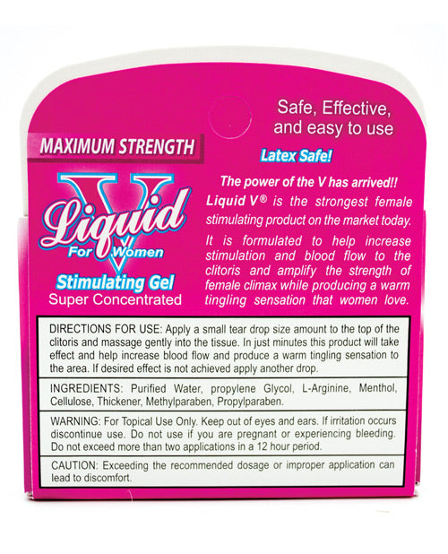 Liquid V Female Stimulant - Pillow Box Of 3 - Casual Toys