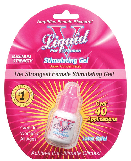 Liquid V Female Stimulant - 10 Ml Bottle In Clamshell - Casual Toys