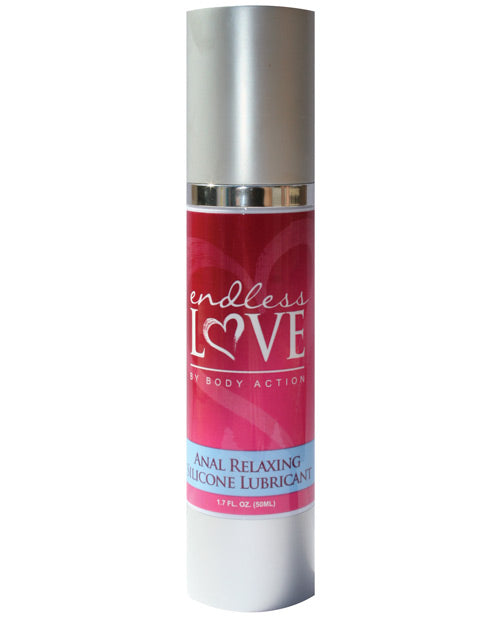 Endless Love Relaxing Anal Silicone Lubricant - 1.7 Oz - Casual Toys